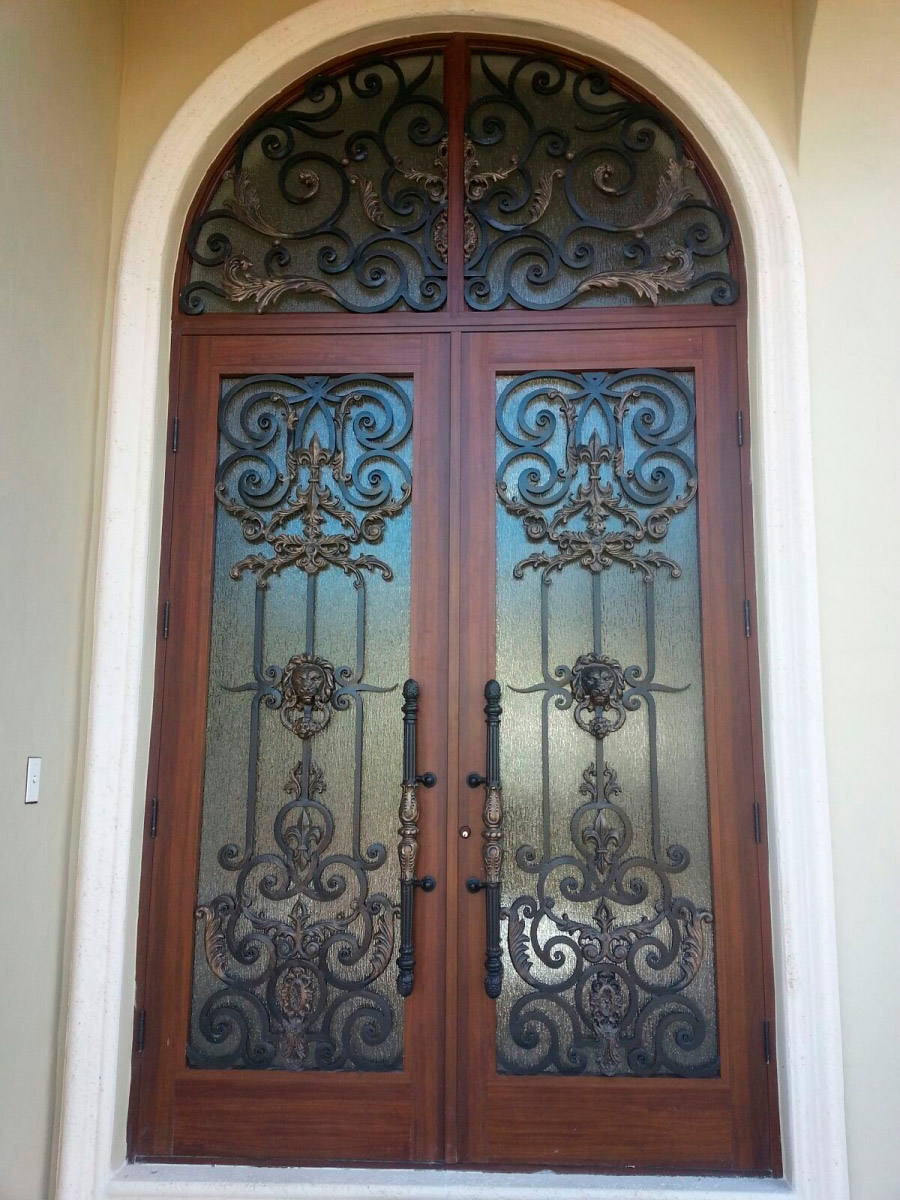 ... ornamental doors possess such strong impact resistant qualities that not even a heavy object thrown at a fast speed could knock and shatter all layers ... & Ornamental Doors - CitiQuiet Windows